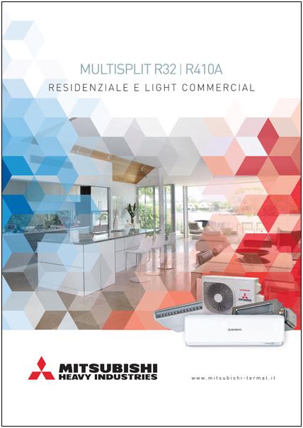 Catalogo Mitsubishi mutisplit Residenziale e Light Commercial