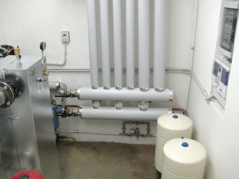 centrale termica condominio C.B. dettaglio