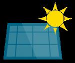 icona impianto solare termico