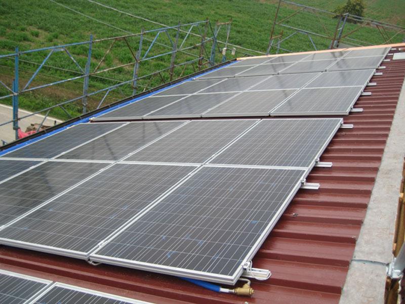 impianto termo-fotovoltaico residenziale