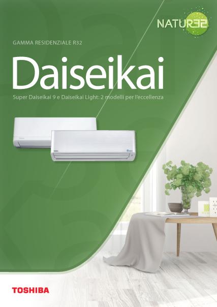 climatizzatori gamma residenziale R32