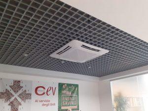 Impianto di climatizzazione invernale/estiva immobile commerciale