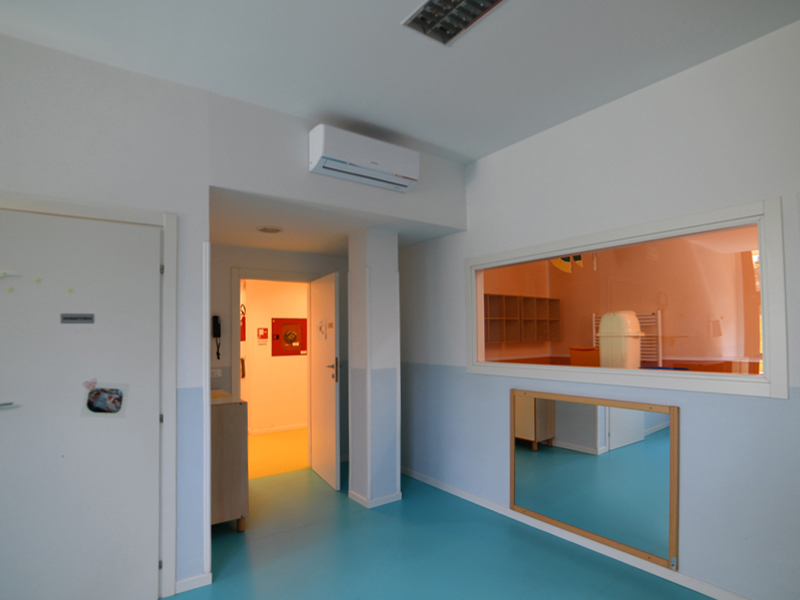 Impianto raffrescamento e riscaldamento asilo