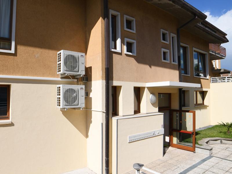 impianto climatizzazione asilo